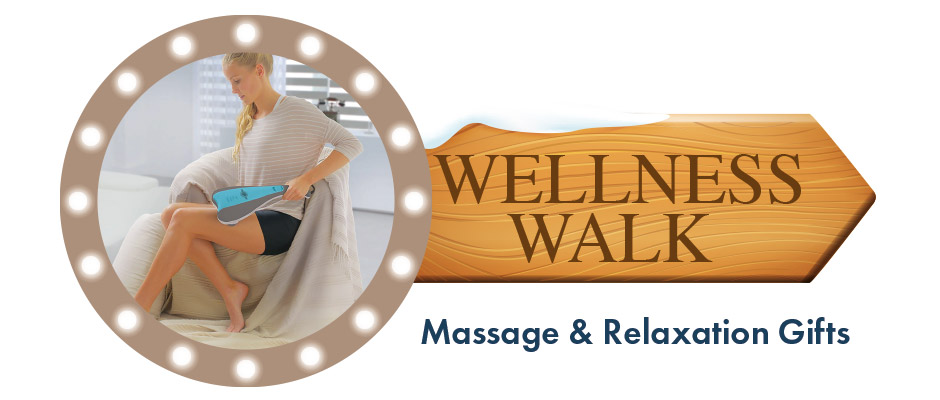 Wellness walk - massage and relaxation gifts